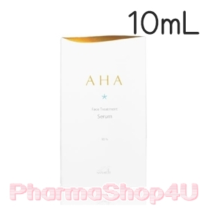 Maxkin AHA Face Treatment Serum 10% 10mL เซรั่มปรับสภาพผิวจากเอเอชเอธรรมชาติบริสุทธิ์ ซึมเข้าสู่ผิวอย่างรวดเร็ว ตรงจุด