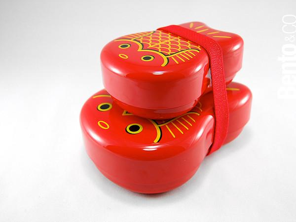 Oyako Kingyo Bento Box - กล่องเบนโตะญี่ปุ่น ปลาทองสีแดง