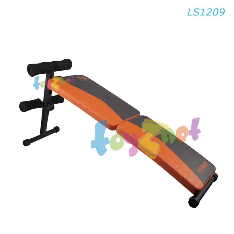Liveup ม้านั่งซิท-อั้พ ออกกำลังกายกล้ามท้อง (พับได้) รุ่น LS1209