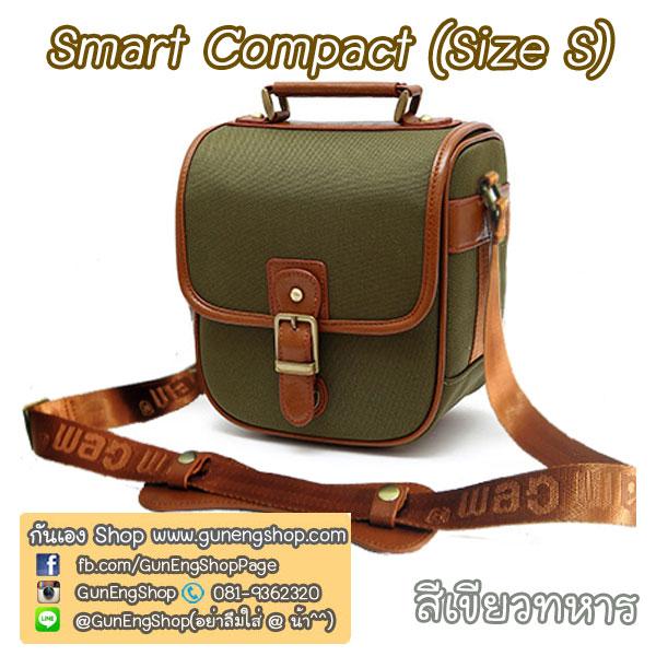กระเป๋ากล้องกันน้ำ คุณภาพดี Smart Compact Size S สำหรับกล้อง เช่น XA2 650D D7000 ฯลฯ