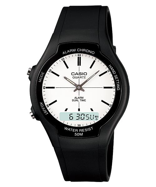 นาฬิกา คาสิโอ Casio STANDARD ANALOG-DIGITAL รุ่น AW-90H-7E
