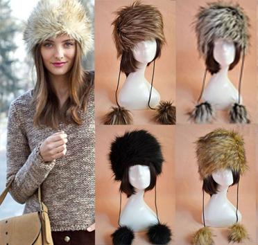 Pre-Order หมวกเฟอร์เลียนแบบขนสัตว์สไตล์สาวรัชเซีย **สินค้าPre-Order เปิดรับอีกครั้งวันที่ 1 กพ.60 ( ติดเทศกาลตรุษจีน ) ได้สินค้าประมาณต้นเดือนมีนาคม 60