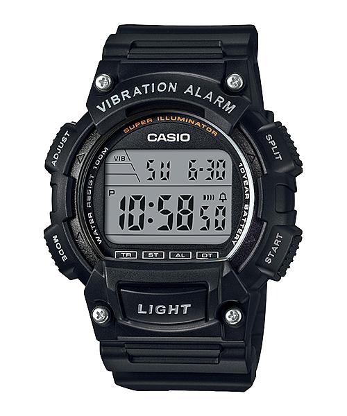 นาฬิกา คาสิโอ Casio แบตเตอรี่ 10 ปี รุ่น W-736H-1AV ของแท้ รับประกัน 1 ปี