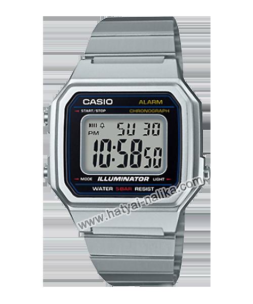 นาฬิกา คาสิโอ Casio STANDARD DIGITAL B650 series รุ่น B650WD-1A (Silver Tone) ของแท้ รับประกัน1ปี (หายาก ไม่มีขายในไทย)