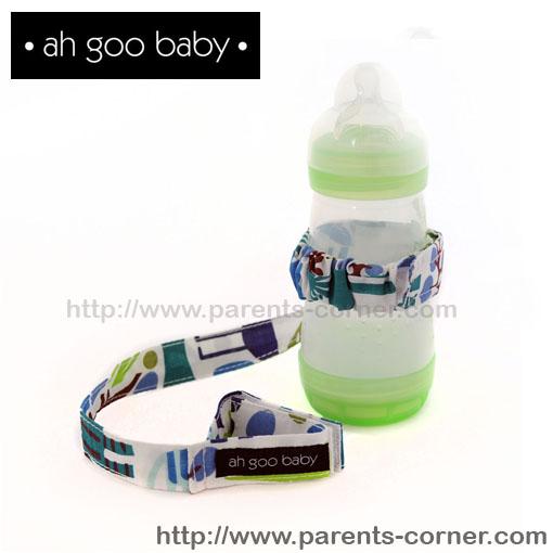 สายห้อยขวดน้ำ/ของเล่น Ah Goo Baby - Zoo Frency