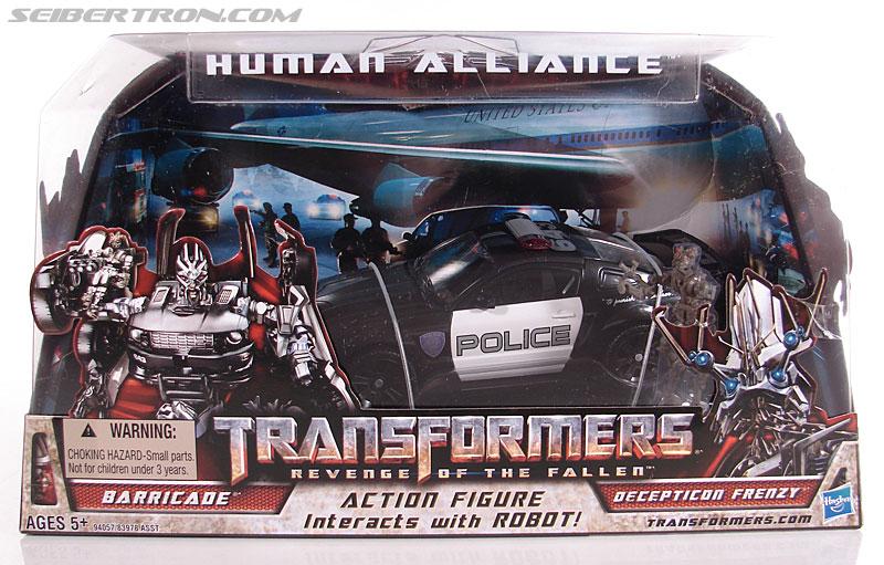 Transformers Revenge of the Fallen Human Alliance Barricade KO NEW