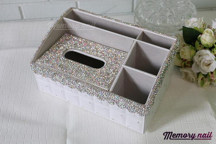 กล่องทิชชู่เพชร,กล่องใส่ทิชชู่เพชร,กล่องทิชชู่,กล่องใส่ทิชชู่