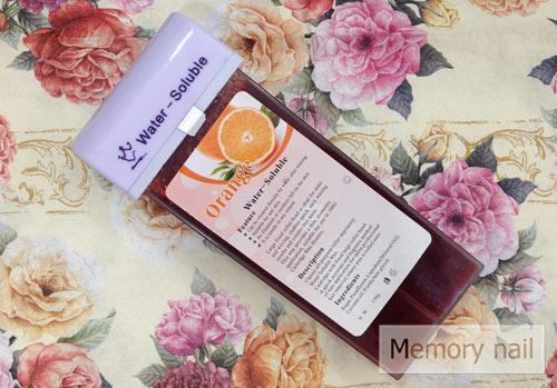 Refill Wax (แว๊กซ์แท่ง) กลิ่นส้ม เป็นStrip wax (แว๊กซ์ร้อน ใช้ผ้าดึง)