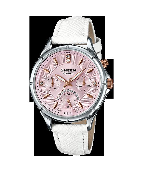 นาฬิกา คาสิโอ Casio SHEEN PINK COLOR SERIES รุ่น SHE-3047L-4B ของแท้ รับประกัน1ปี