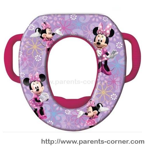 ฝารองชักโครก Soft Potty Seat ลาย Minnie
