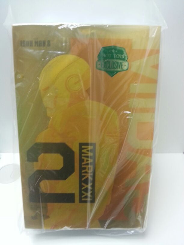 Hot Toys MMS208 Iron Man 3 Midas Mark XXI MK 21 1/6th scale GOLD EXCLUSIVE NEW