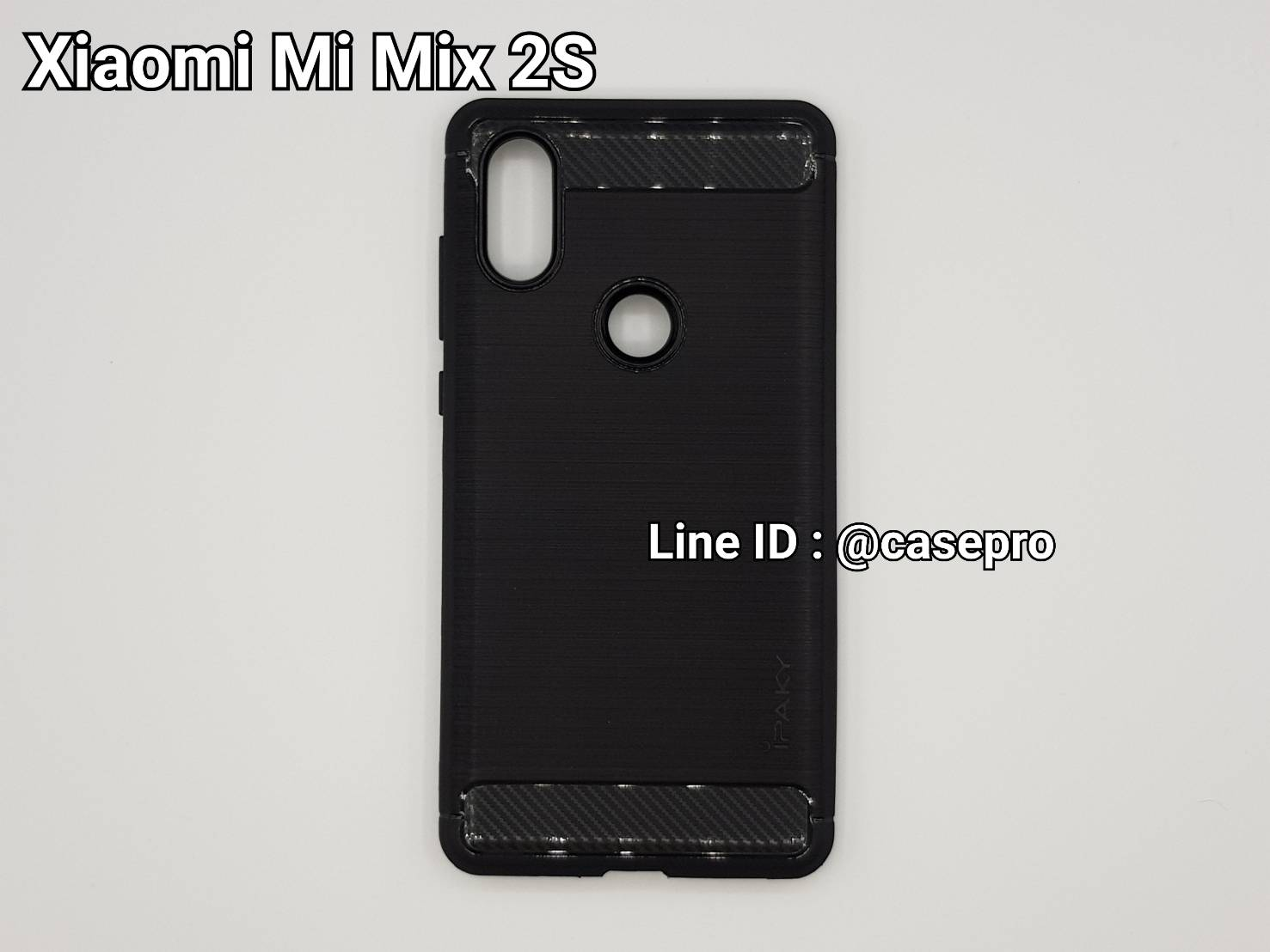 เคสกันกระแทก iPAKY LAKO Series Brushed Silicone Xiaomi Mi Mix 2S