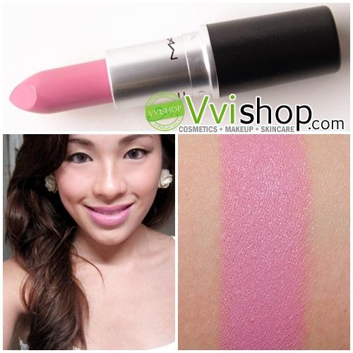 MAC LipStick # SNOB : light neutral pink (Satin) โทนชมพูนม
