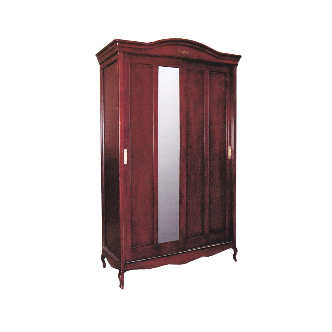 ตู้ผ้าบานสไลด์แมรี่ 1.60 ม. สีขาว