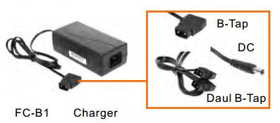 Batteries, Chargers, On-Camera Light Accessries, Cases & Bags FC-B1