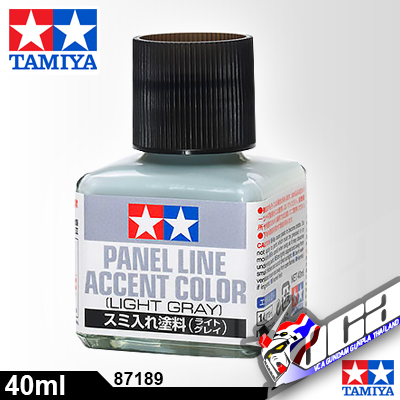 TAMIYA PANEL LINE ACCENT LIGHT GRAY
