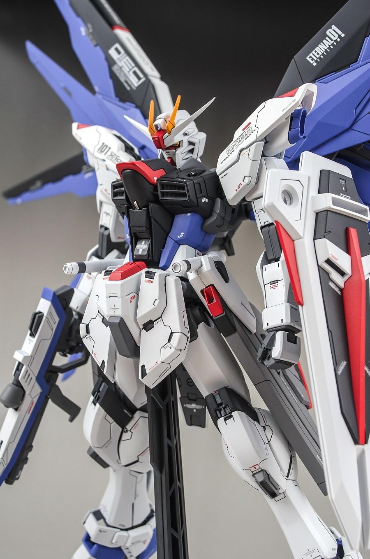 MG 1/100 FREEDOM GUNDAM | Painted Build by mushuwyou