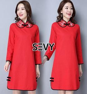 Dress สีแดงแรงฤทธิ์สำหรับตรุษจีนปีนี้