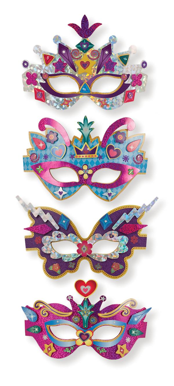 DIY หน้ากากแฟนซี Simply Crafty - Marvelous Masks