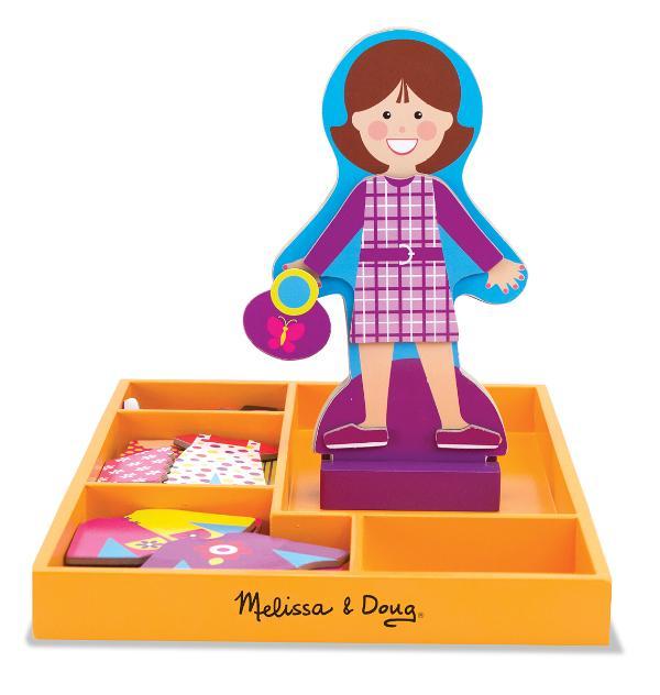 แต่งตัวตุ๊กตา My Friend Molly Magnetic Dress-Up