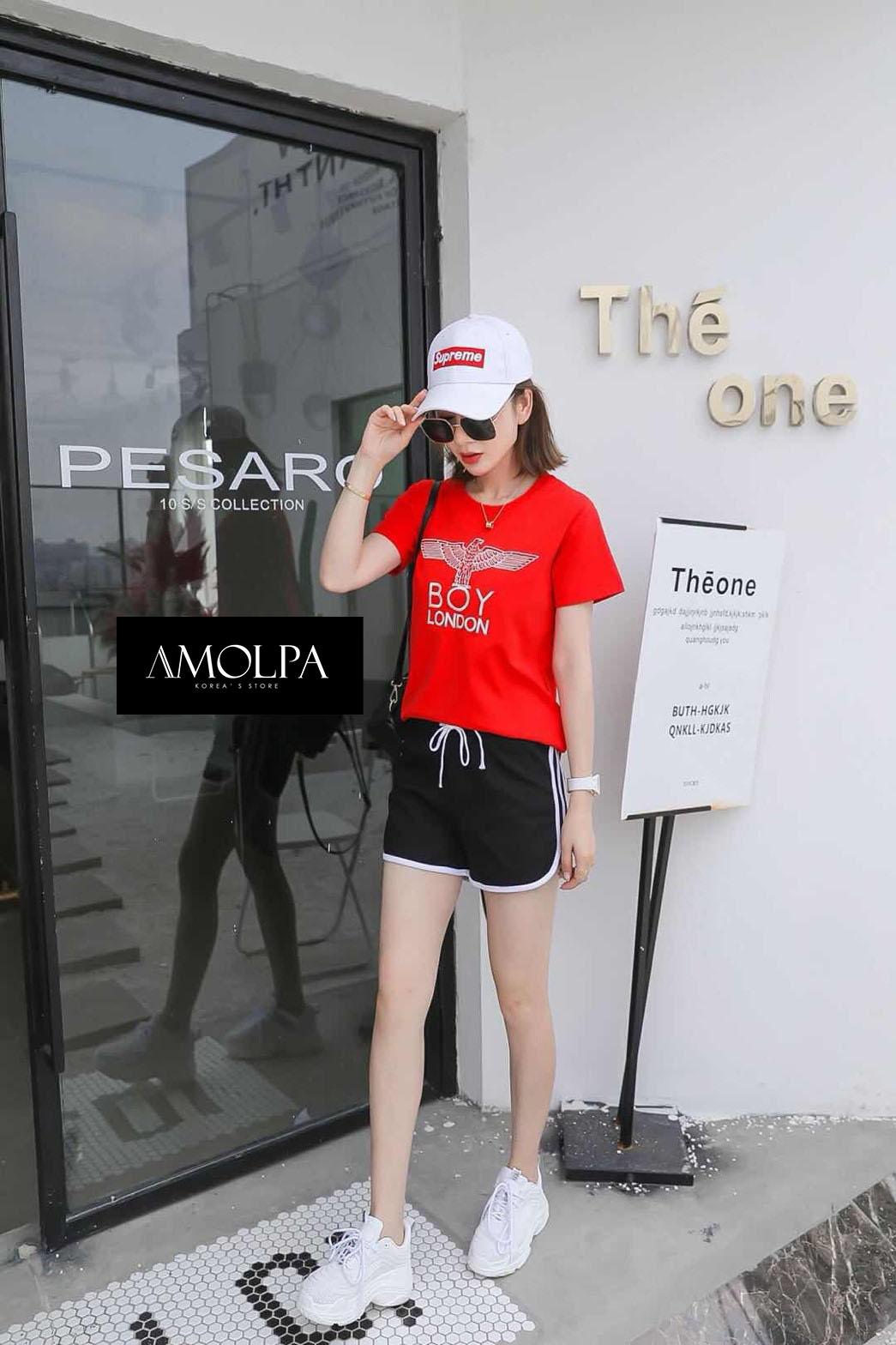 เสื้อแฟชั่นเกาหลีงานปัก BOY LONDON ใหม่ชนช๊อปป