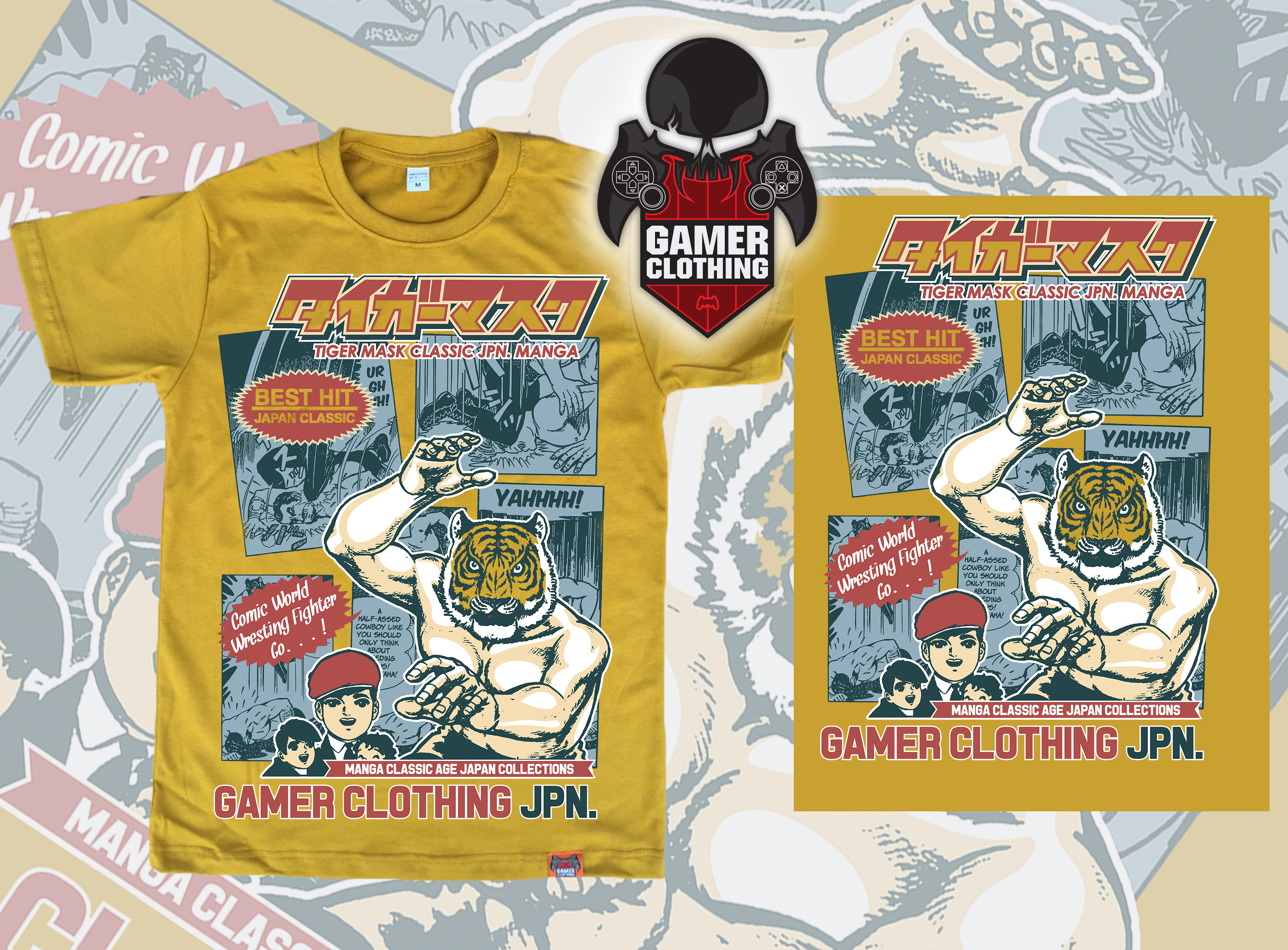 Tiger Mask T-Shirt