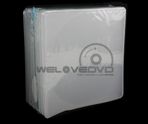 Single White Dura CD Box (10 pcs)