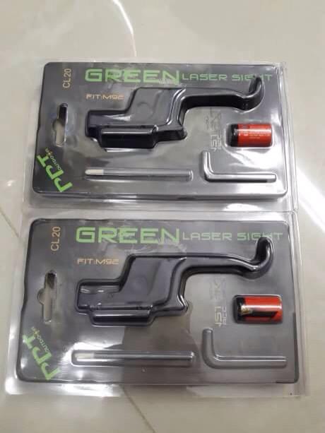 New.เลเซอร์เขียว ติดโกงไก ปืนสั้น GLOCK G17 G18 G23 และ M92 ราคาพิเศษ