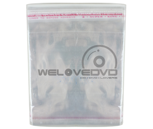 OPP Plastic Bags for VCD 15.5 แบบบาง (100 PCS)