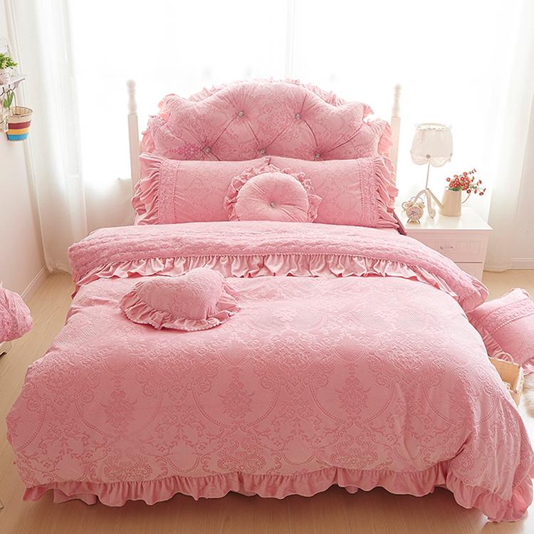 Pre-order ผ้าปูที่นอนเจ้าหญิง มี 4 สี เลือกสีด้านในค่ะ