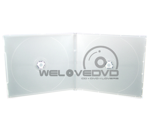 2 Disc VCD Slim Case White (10 pcs)