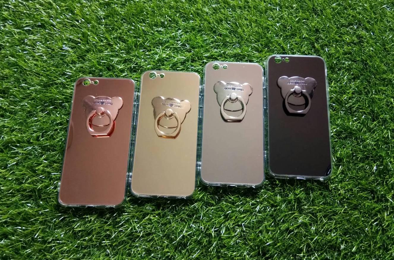 TPU โครเมี่ยมพร้อมแหวน(NEW) iphone6/6s