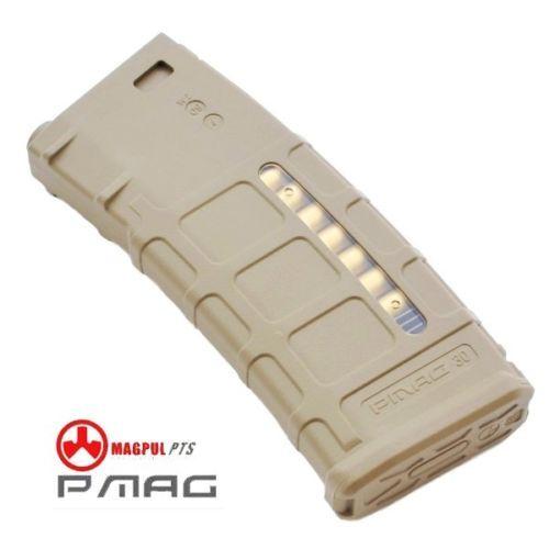 PMAG M4 สีทราย (แม๊กสแตนด์-75นัด)