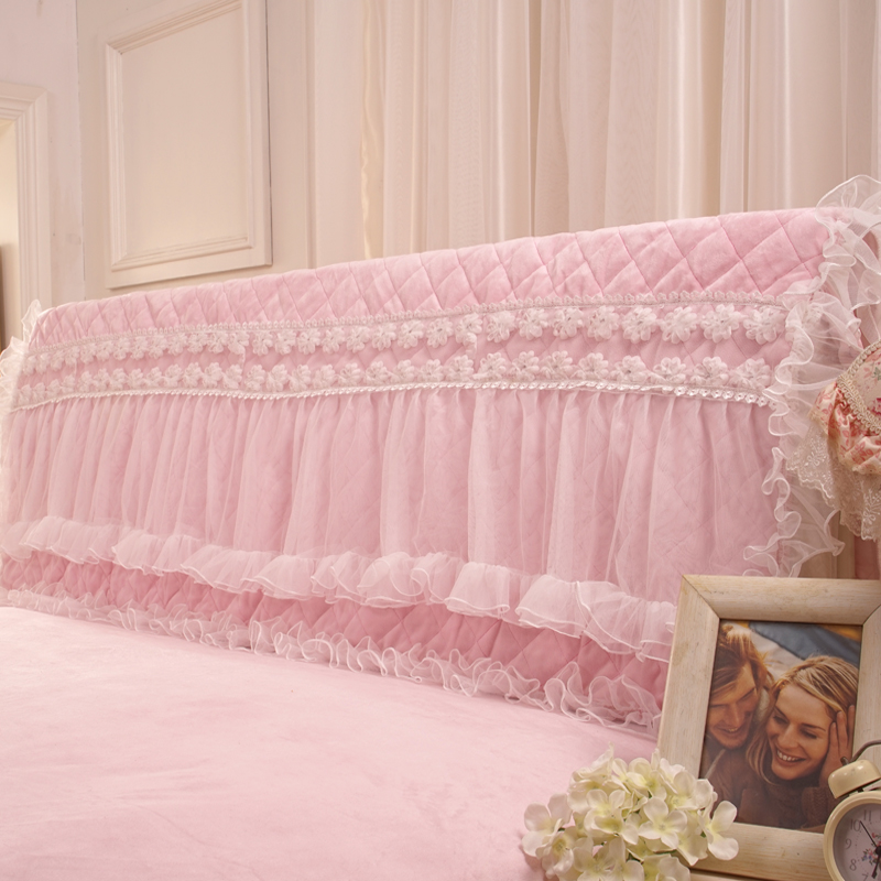 Pre-Order ผ้าคลุมหัวเตียงเจ้าหญิง มี 2 สี เลือกสีด้านในค่ะ