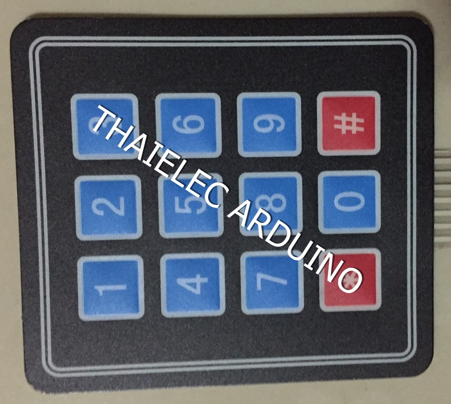 Matrix Keypad 3x4