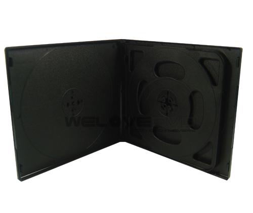4 Disc VCD Case Black (10 pcs)
