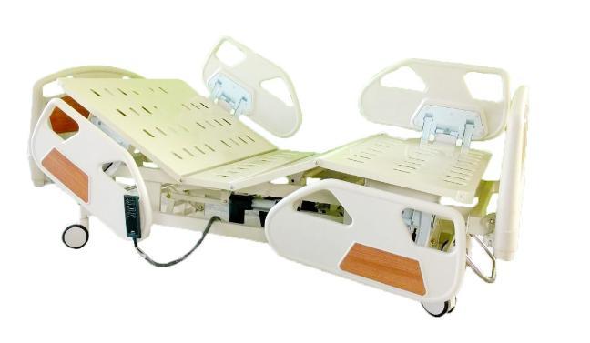 เตียงไฟฟ้า 3 ไกร์ ไฟฟ้า,แบตฯ แบบ ABS ราวปีกนก รหัส MEA013