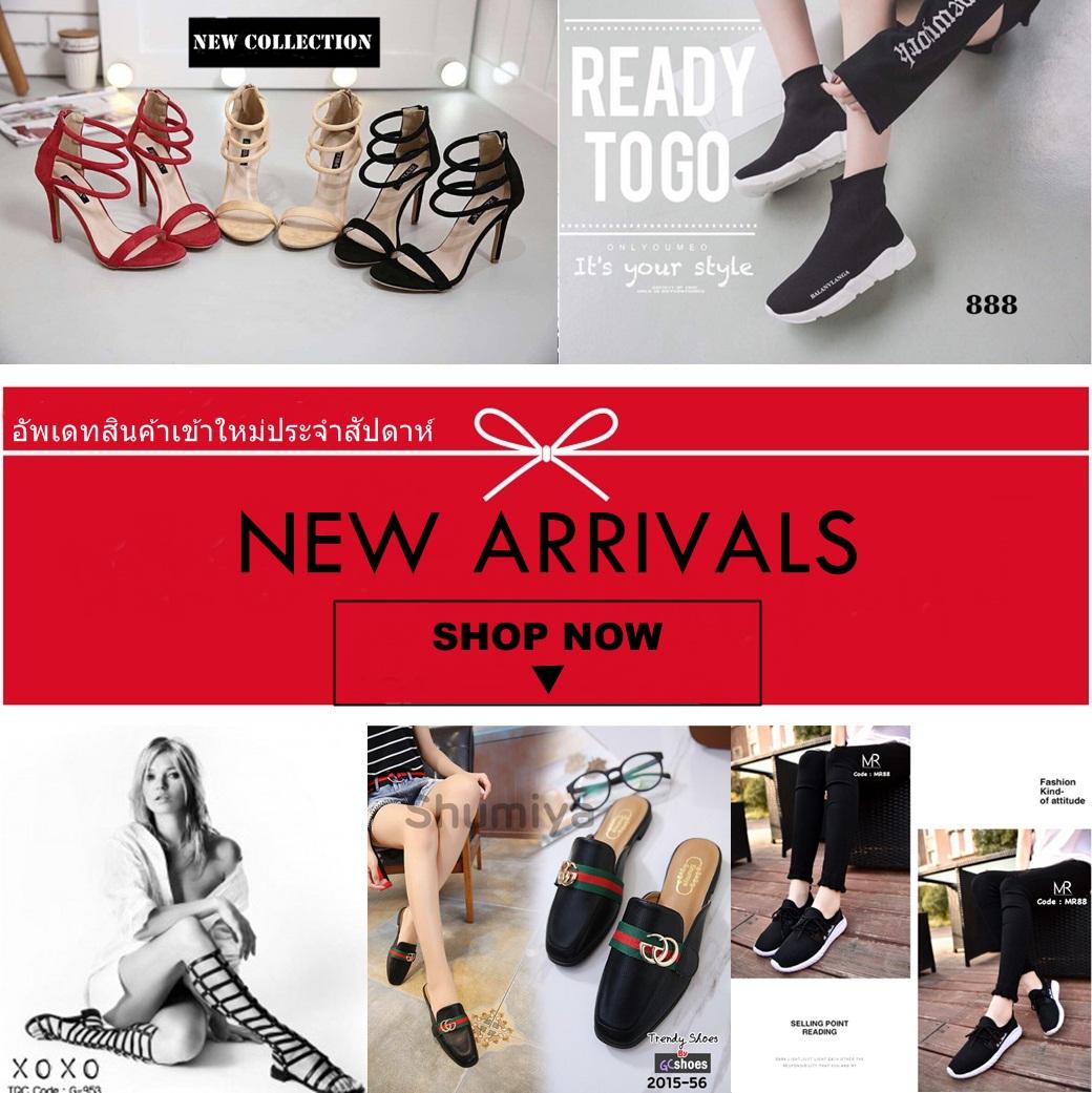 รองเท้าแฟชั่น รองเท้าแฟชั่นหญิง รองเท้าสวยๆ มาใหม่