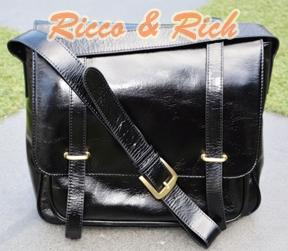 กระเป๋าหนังแท้ Zeus - Black