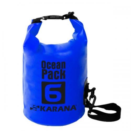 กระเป๋ากันน้ำ Ocean Pack 6L-สีน้ำเงิน