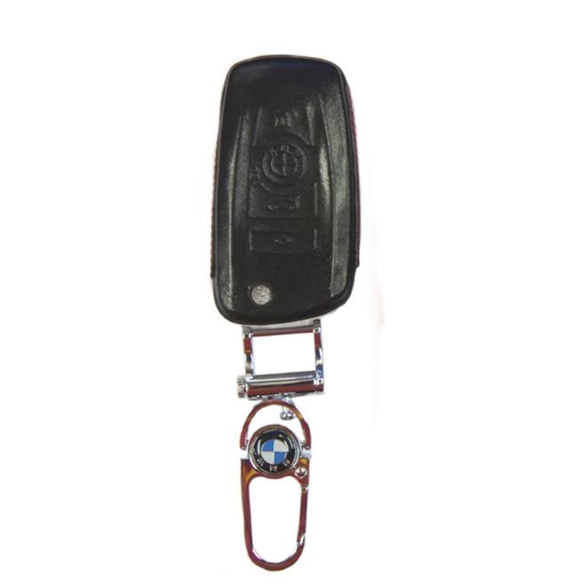 WASABI กุญแจซองหนัง 4DX Luxurious BMW Series 5,7 (ดำ)