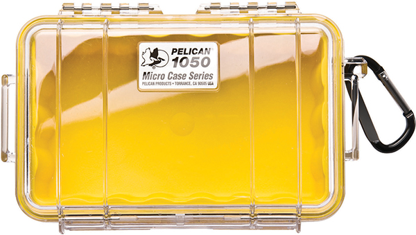 PELICAN™ 1050 MIRCOCASE, YELLOW / CLEAR