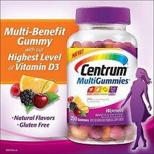Centrum MultiGummies Woman วิตามินรวมสำหรับผู้หญิง 250 เม็ด
