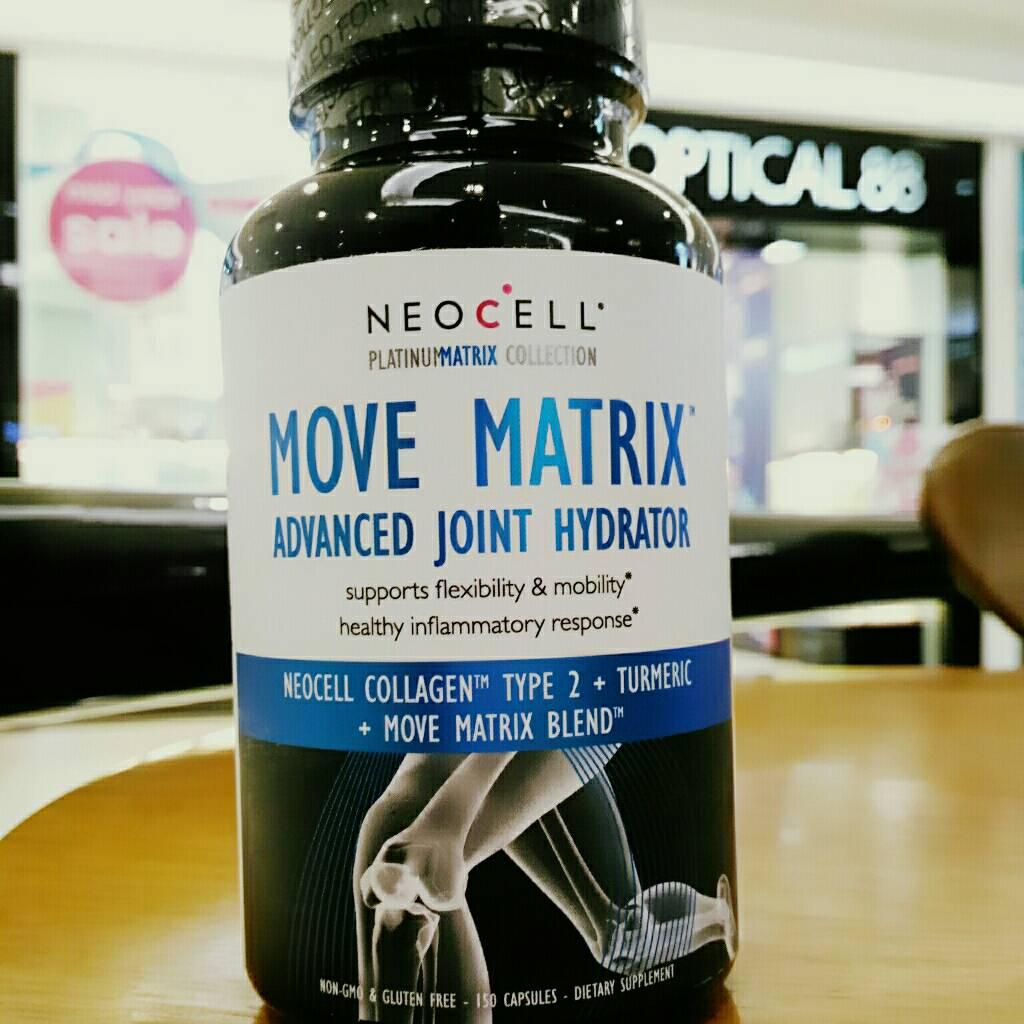 วิตามินบำรุงเข่า Move Matrix Advanced Joint Hydrator Neocell