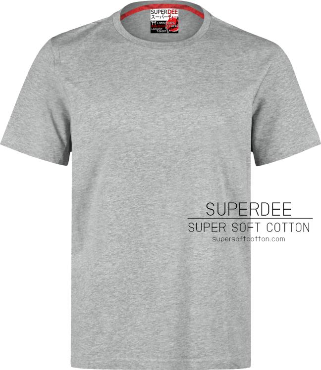 Premium Cotton Gray สีเทาทอปดราย