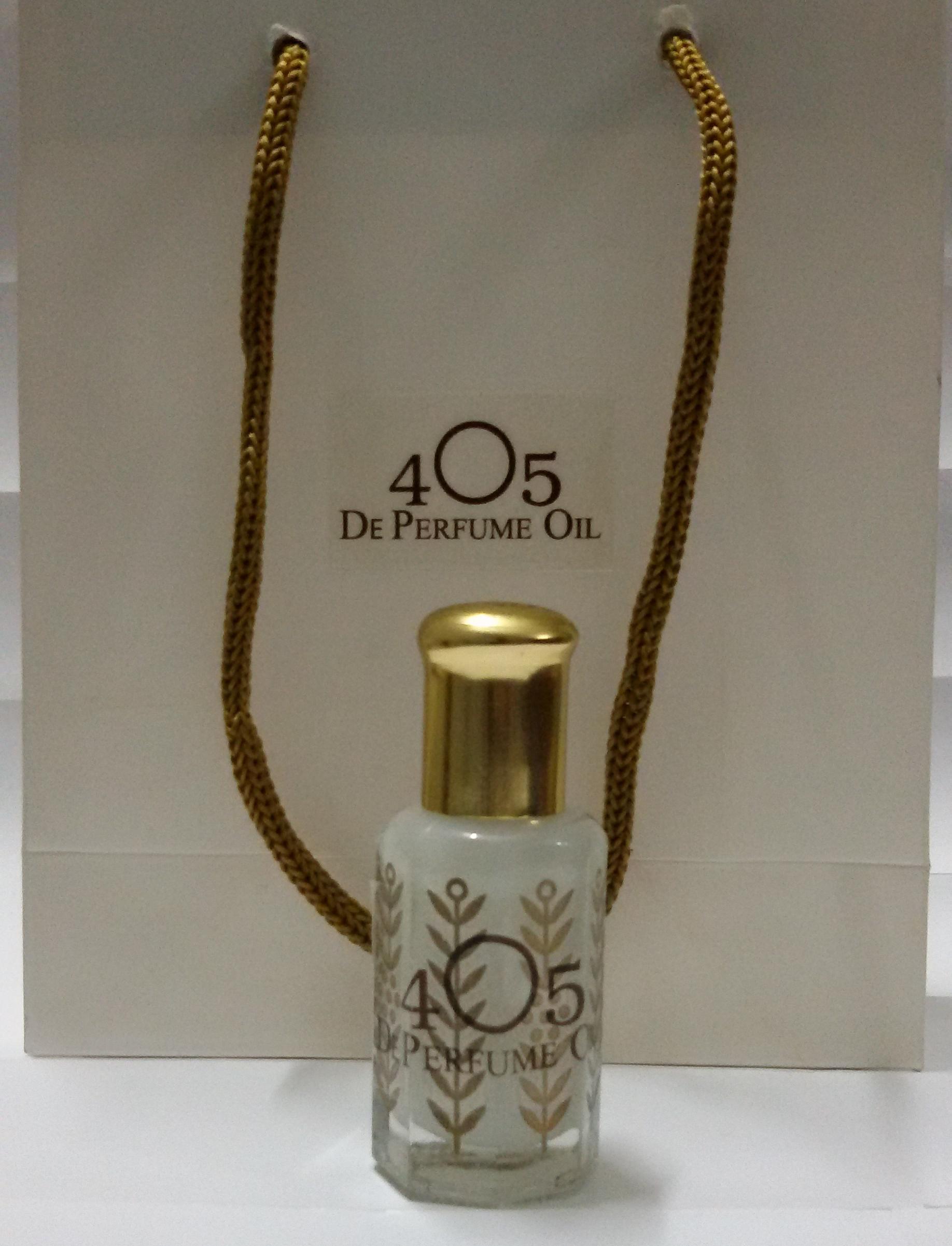 น้ำหอมไวท์มัสก์ White Musk Perfume Oil by 405 ขนาด 12 มล.