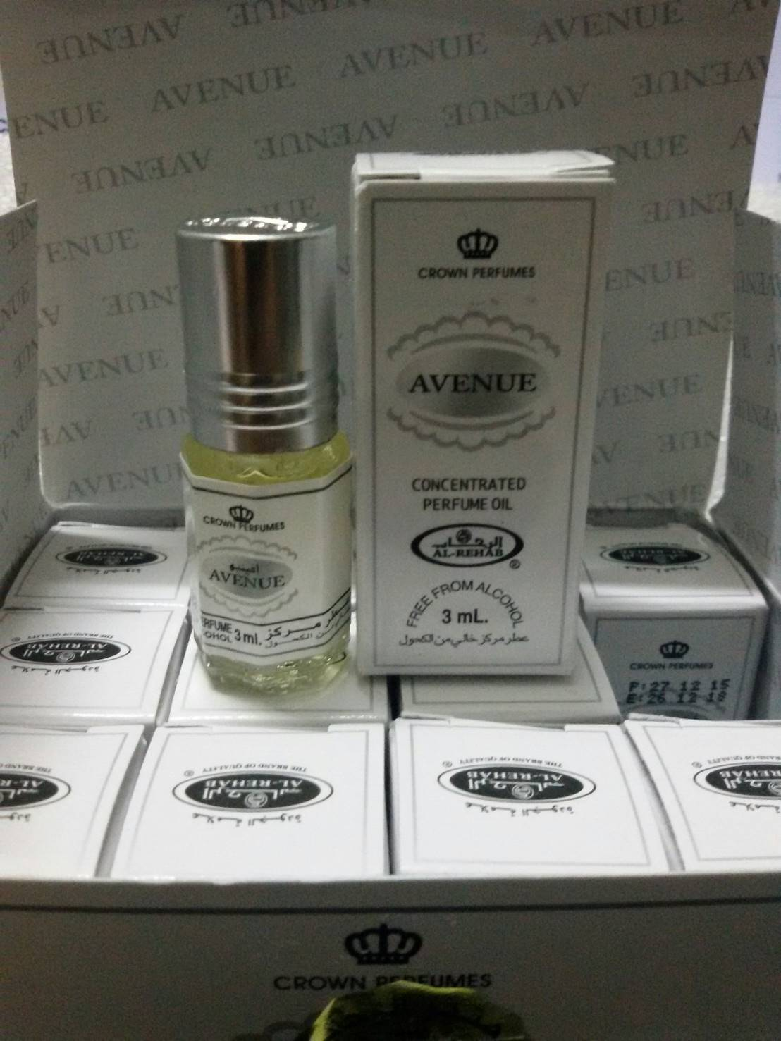น้ำหอม Avenue by Al Rehab Concentrated Perfume Oil 3ml.