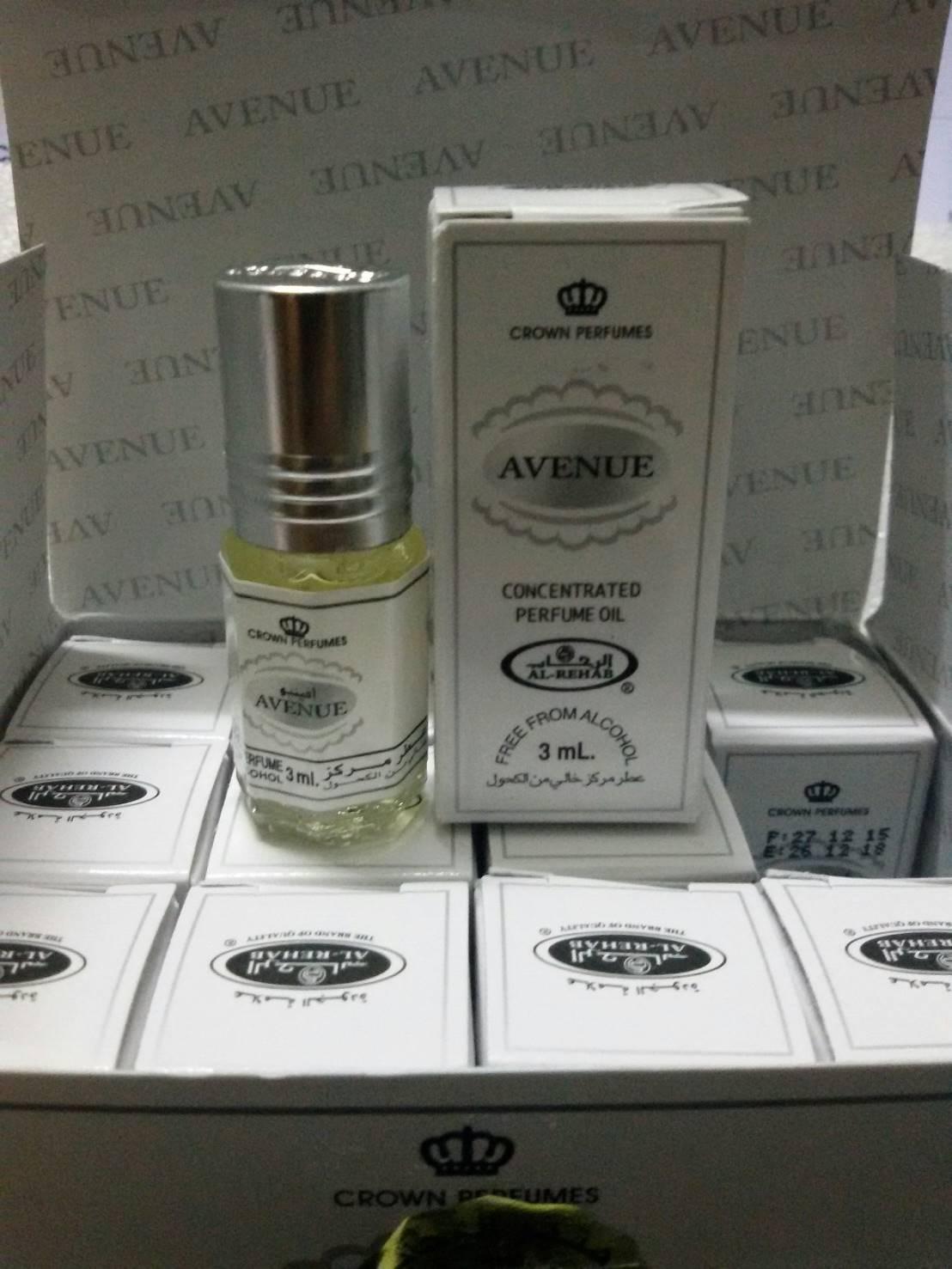 น้ำหอม Avenue by Al Rehab Concentrated Perfume Oil 3ml.