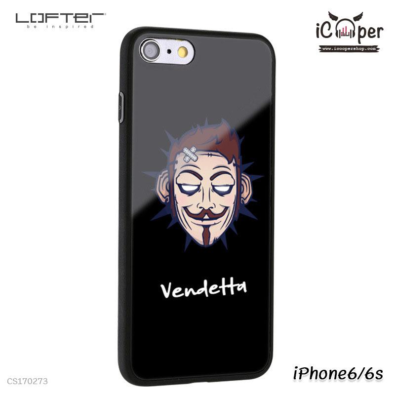 LOFTER Cartoon Mirror - Vendetta (iPhone6/6s)