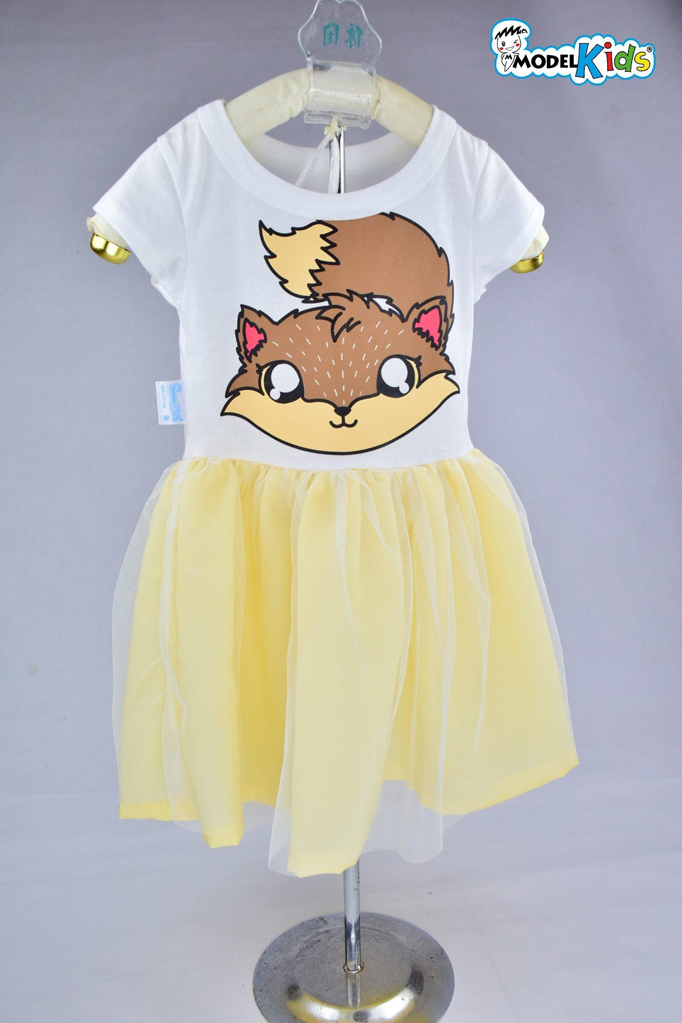 Dress จิ้งจอกเหลืองพาสเทล